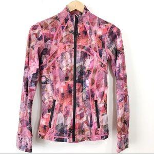 Lululemon Sun Dazed Pink Define Nulux Jacket Sz 6